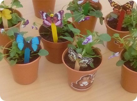 Flower arranging at Silver Birch Wickford!